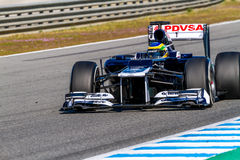 Team Williams F1, Bruno Senna, 2012 Royalty Free Stock Images