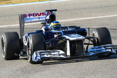 Team Williams F1, Bruno Senna, 2012 Stock Photos