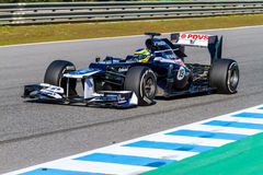 Team Williams F1, Bruno Senna, 2012 Royalty Free Stock Photo