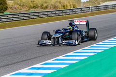 Team Williams F1, Bruno Senna, 2012 Royalty Free Stock Photography
