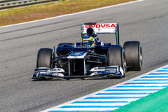 Team Williams F1, Bruno Senna, 2012 Stock Photos