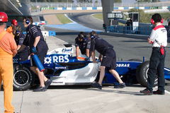 Team Williams F1, Narain Karthikeyan, 2006 Stock Image