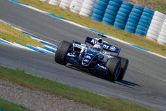 Team Williams F1, Narain Karthikeyan, 2006 Royalty Free Stock Photography
