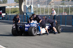 Team Williams F1, Narain Karthikeyan, 2006 Royalty Free Stock Photo