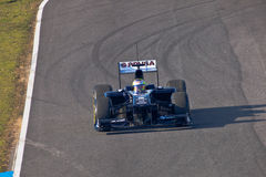 Team Williams F1, Pastor Maldonado, 2011 Stock Image