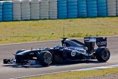 Team Williams F1, Pastor Maldonado, 2011 Stock Photography