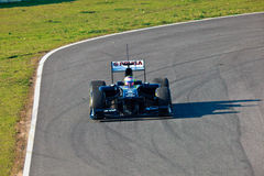 Team Williams F1, Pastor Maldonado, 2011 Royalty Free Stock Photography