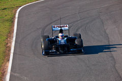 Team Williams F1, Pastor Maldonado, 2011 Royalty Free Stock Photo