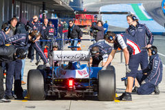 Team Williams F1, Pastor Maldonado, 2012 Royalty Free Stock Photography