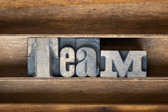 Team wooden tray royalty free stock images