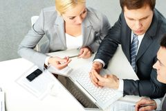 Team at work Stock Images