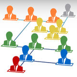 Team work. Team work icon. Business team concept. friendship communication, people. Company employee. Graphic social network, worker Stock Images