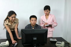 Team work Stock Photos