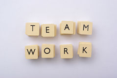 Team work abstact Stock Image
