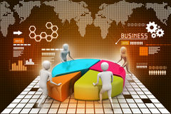 Team work, business concept Stock Photography