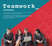 Team Work Collaboration Cooperation Concept Stock Fotografie