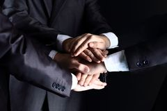 Team work concept Royalty Free Stock Photos