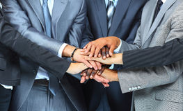 Team work concept. Business people Royalty Free Stock Image