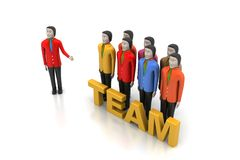 Team work concept Royalty Free Stock Image