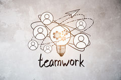 Team work concept Royalty Free Stock Photography