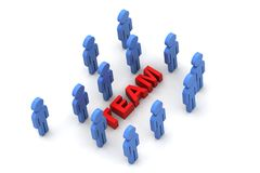 Team work concept Stock Photo