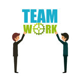 Team work design Royalty Free Stock Images