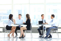 Team at work Royalty Free Stock Photo