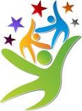 Team work logo Stock Images