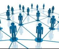 Team Work Network Royalty Free Stock Photo