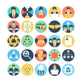 Team Work and Organization Vector Icons 1. Set of teamwork, organization icons that are great for presentations, web design, web apps, mobile applications or any Stock Photography