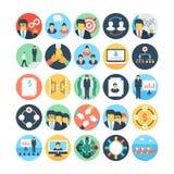 Team Work and Organization Vector Icons 3 Stock Photos