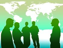 Team work for prevent global warming Stock Photos