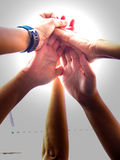 Team work. Teams are key to success Stock Photo