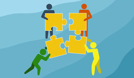 Team Work Royalty Free Stock Photo