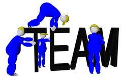 Team work Royalty Free Stock Photo