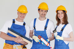 Team of workers Royalty Free Stock Image