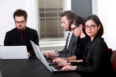 Team working in business office Stock Images