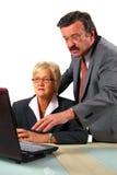 Team Working On Laptop Stock Photos