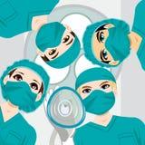 Team Working medico Immagini Stock Libere da Diritti