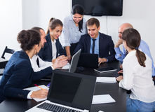 Team working meeting Royalty Free Stock Photo