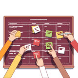 Team working together on a IT startup business Stock Images