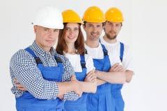 Team of workmen Stock Photography