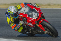 Team Yamalube Folch Endurance 24 heures de motocyclisme de Catalunya Photographie stock libre de droits