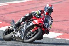 Team Yamalube Folch Endurance 24 heures de motocyclisme de Catalunya Images libres de droits