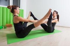 Team yoga Royalty Free Stock Image