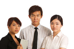 Team of young business executive's Stock Photography