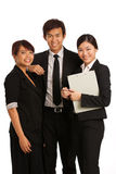 Team of young business executive's Stock Images