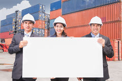 Team of young business people Royalty Free Stock Photography