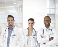 Team of young doctors Royalty Free Stock Photography