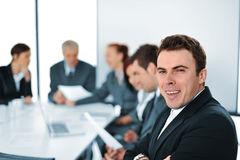 Team of young professionals working Stock Images